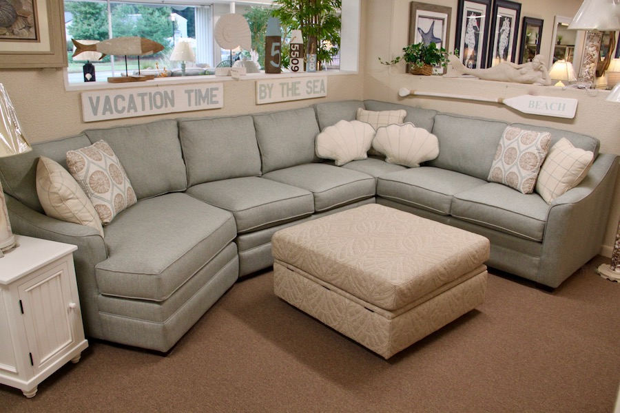 sectional with cuddle chair