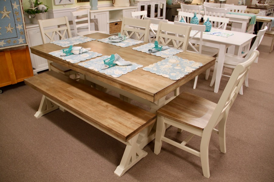 Solid top dinette for beach house