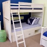 nautical bedroom twin over twin bunkbed