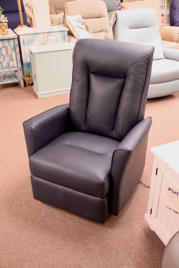 clearance leather recliner