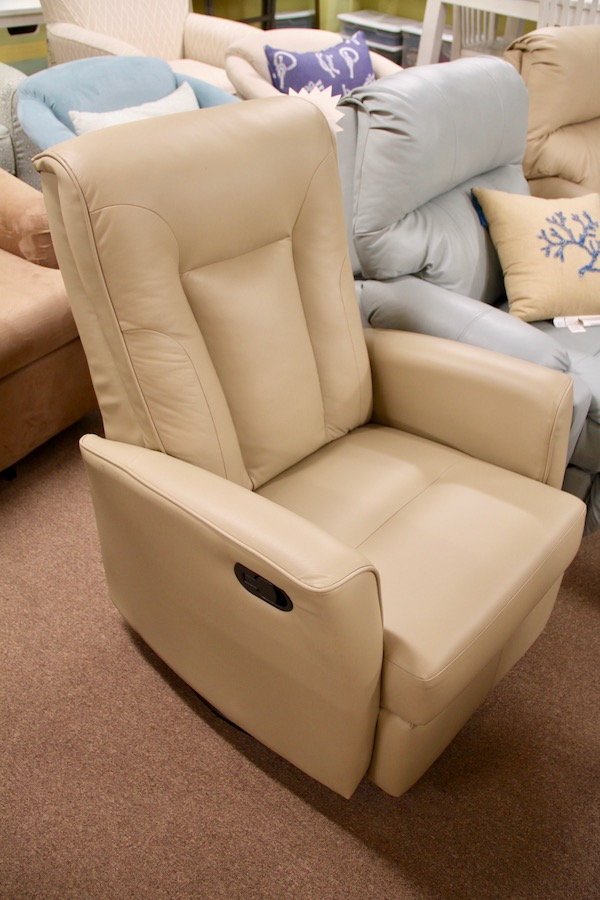 clearance swivel glider recliner