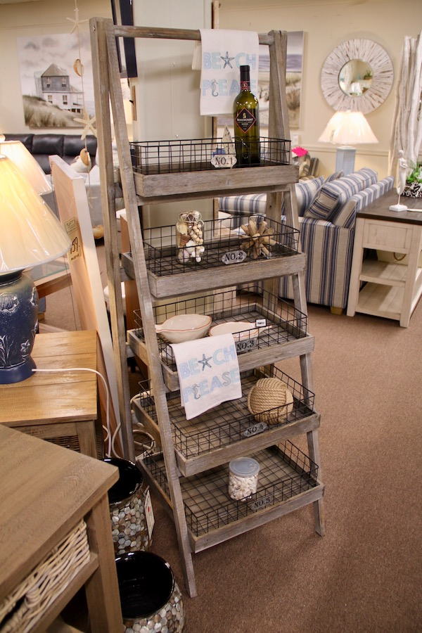 etagere metal baskets