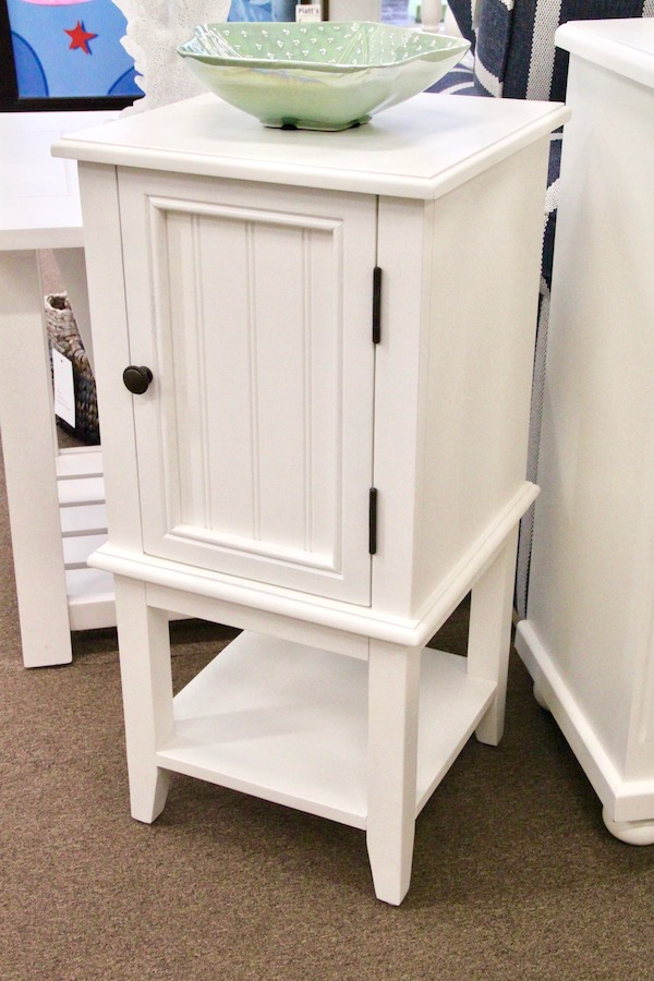 cabinet with bead board door