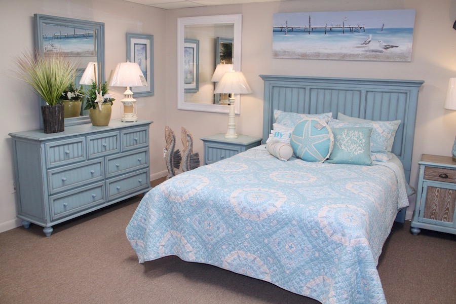 blue bedroom furniture