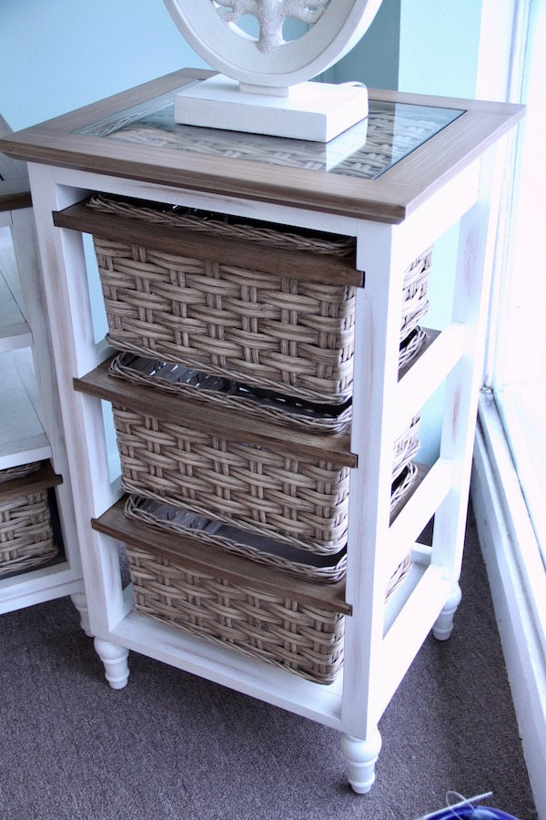 storage cabinet three baskets