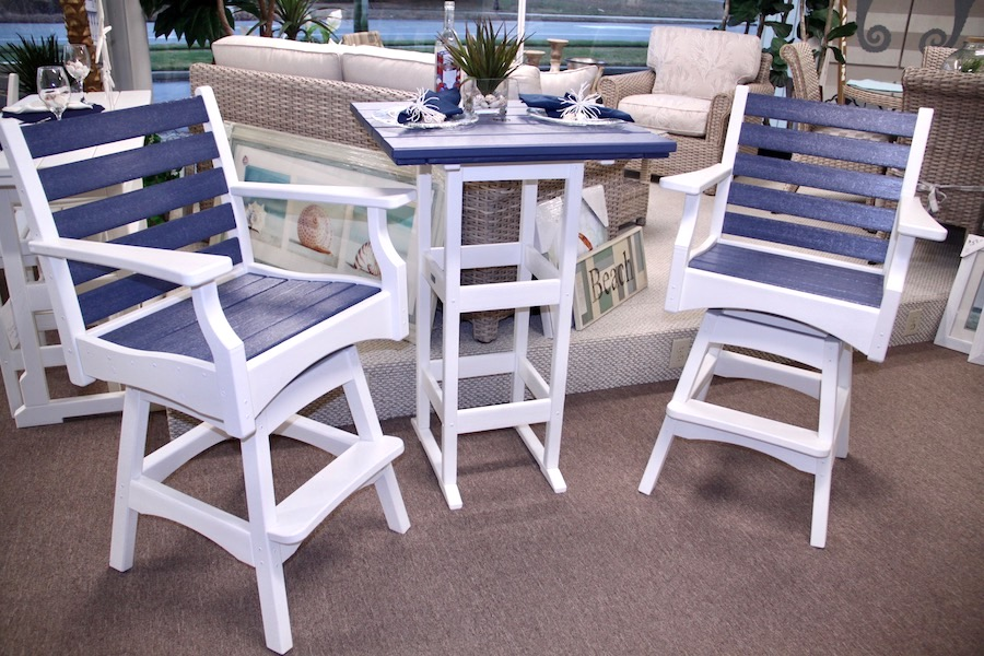 outdoor furniture swivel stools