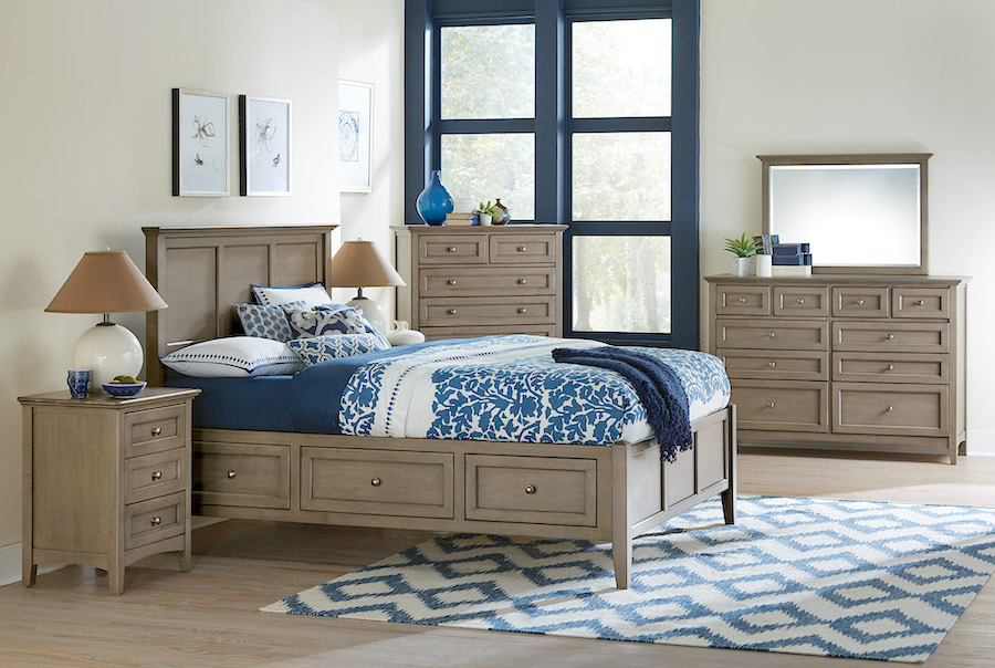 gray panel bedroom furniture