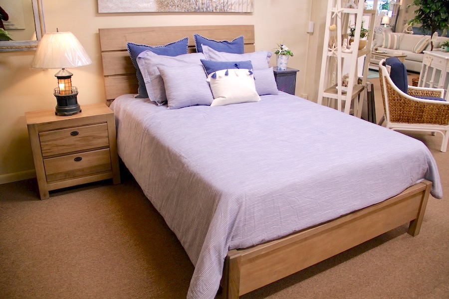 canted plank bedroom furniture