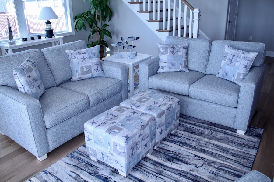 coastal sofa and loveseat