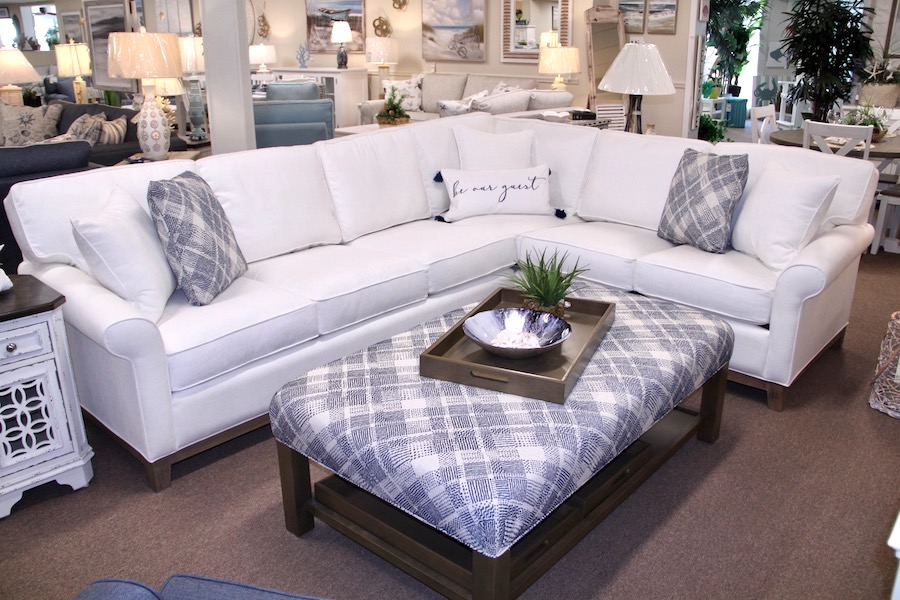 white sectional furniture