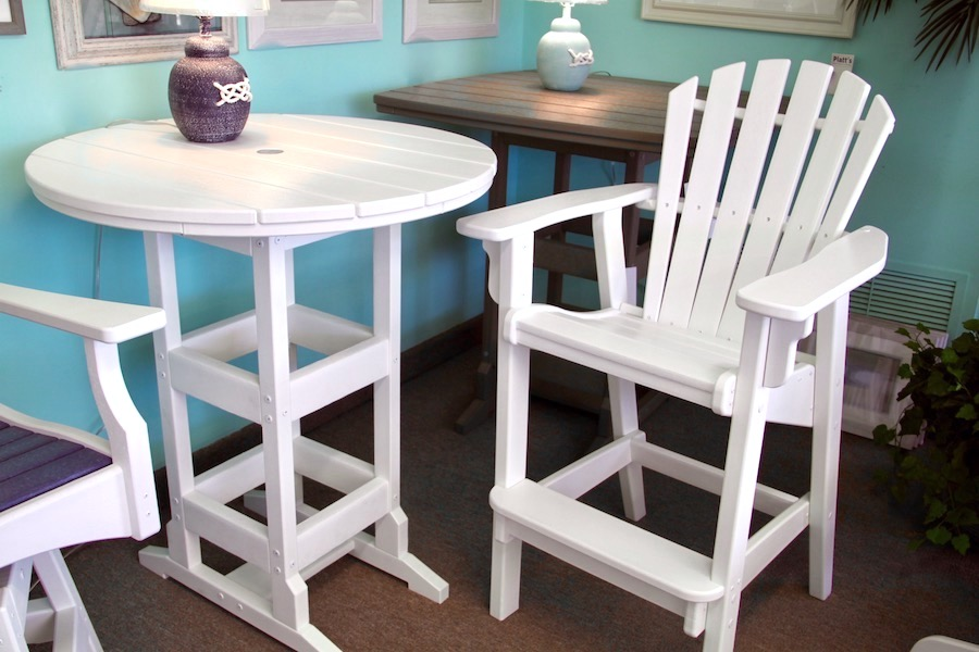 outdoor adirondack stool