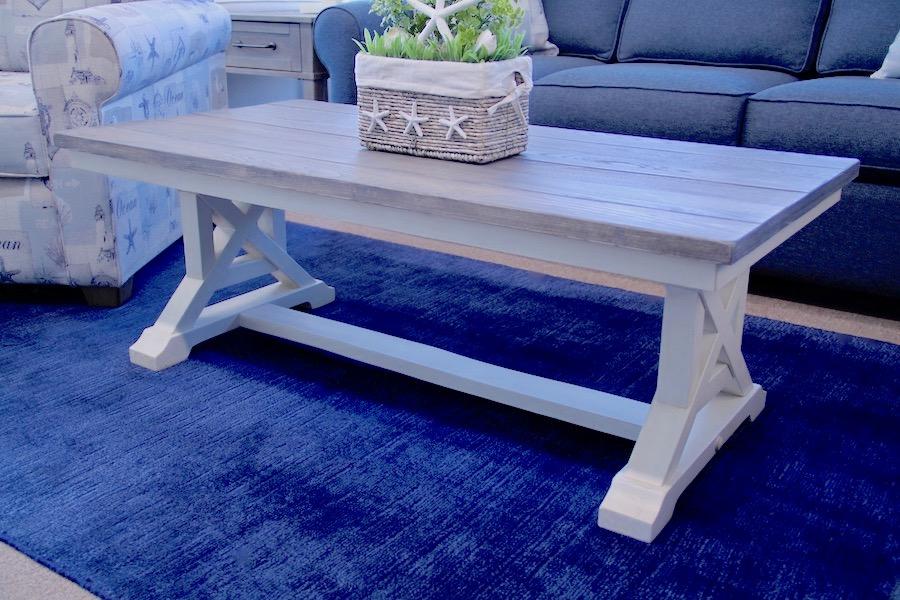 coastal plank tables