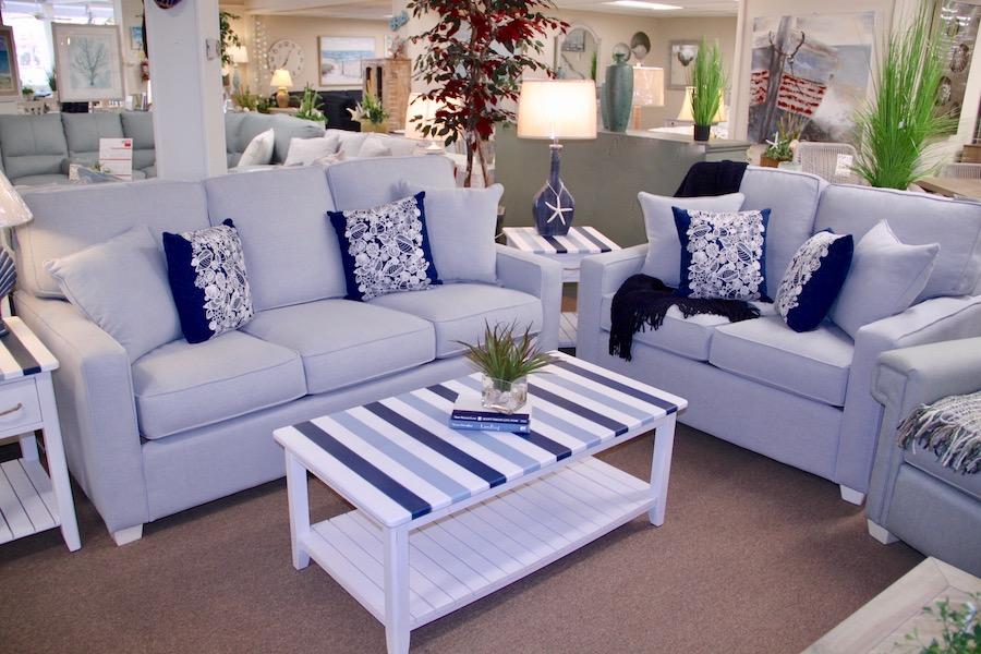 custom sofa and loveseat